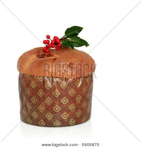 Christmas Panetone Cake