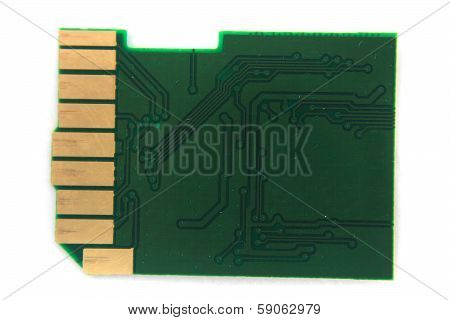 Inside Of Sd Card