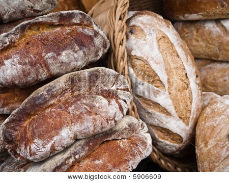 Bread From An Outdoor Market In Washington Dc
