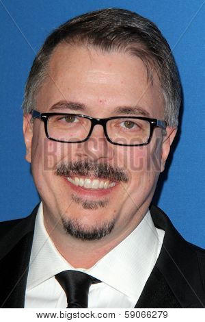 LOS ANGELES - JAN 25:  Vince Gilligan at the 66th Annual Directors Guild of America Awards at Century Plaza Hotel on January 25, 2014 in Century City, CA