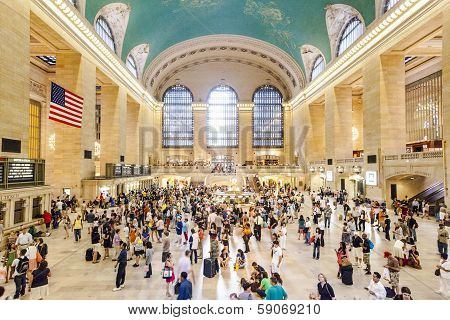 People In Grand Central