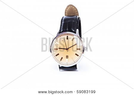 isolated clock on a white background