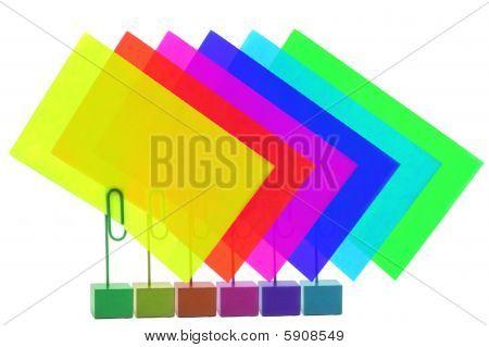 Multicolored Card Holders