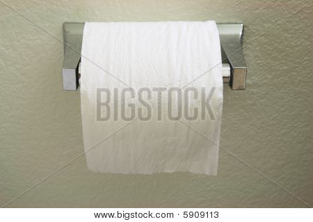 Toilet Paper Roll Front