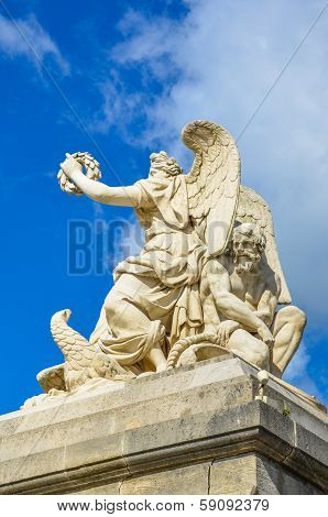 Allegory of Peace Sculpture in Versailles