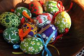 picture of easter candy  - color easter eggs  - JPG