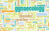 foto of gynecological  - Gynaecology or Gynecology as a Medical Concept - JPG