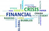 Word Cloud - Financial Crisis