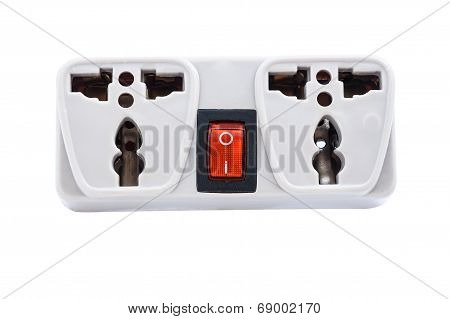 Multiple Socket Extension With Switch