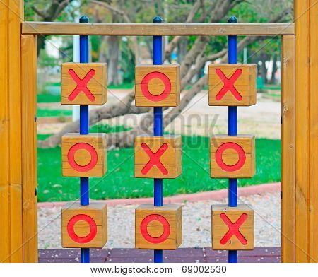 Noughts And Crosses In The Park