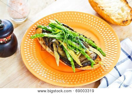 Grilled Vegetables Sandwich