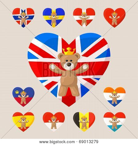 Royal Teddy Bears