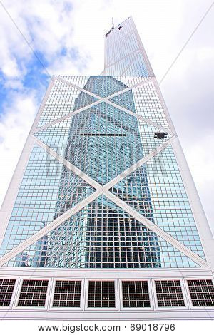 Bank Of China Tower In Hong Kong