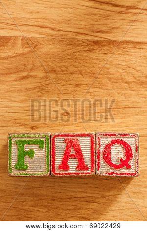 Wooden Toy Blocks Spell FAQ