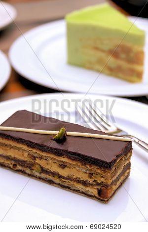 Enjoying Cakes