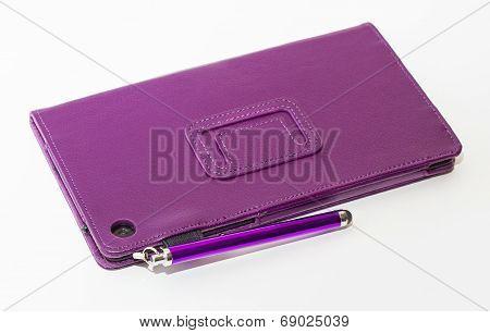 Tablen In Purple Cover
