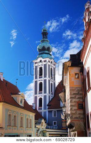 Bohemian Crumlaw tower, Czech republic