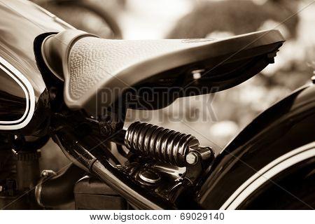 motorcycle saddle
