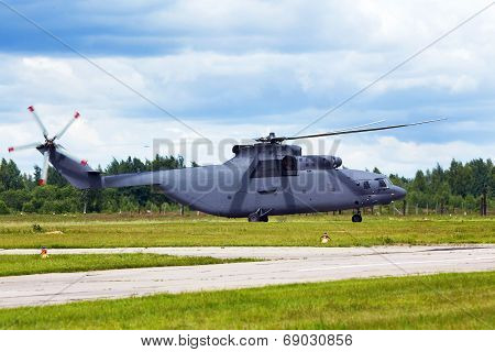 Military Transport Helicopter