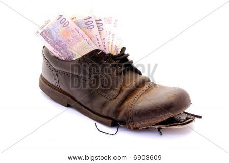 South African Rand shoe