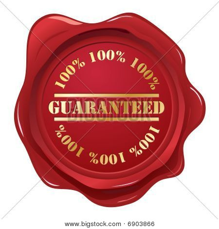 Guaranteed wax seal