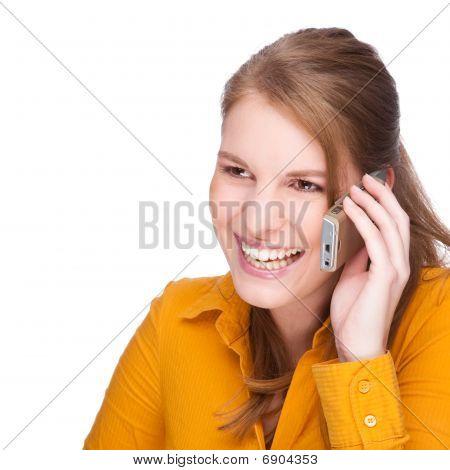 At The Phone