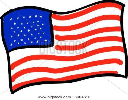 Flagge Vektor
