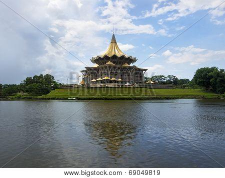 Sarawak State Legislative Assembly Building, Kuching, Malaysia