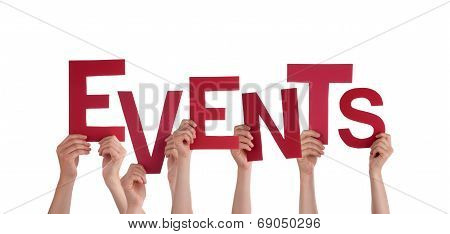 Hands Holding Events