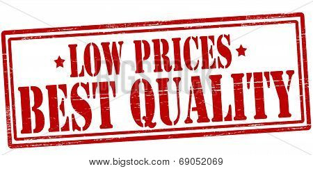 Low Prices Best Quality