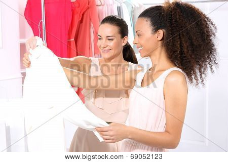 Friends of shopping