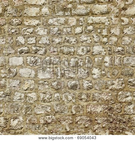 Old brick wall. Seamless texture