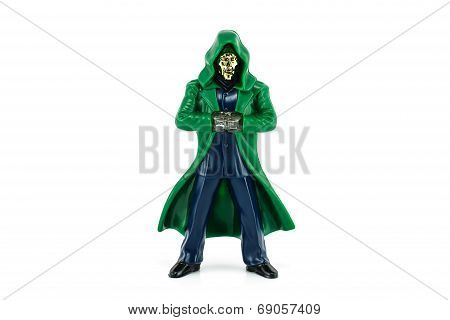 Doctor Doom character form Marvel Comics.