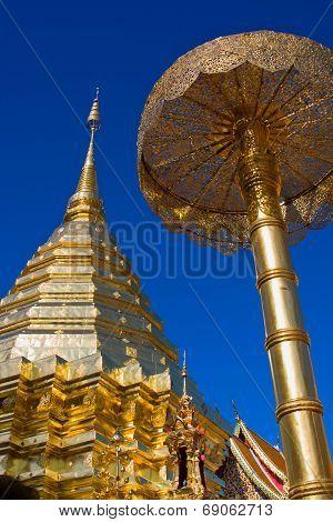 Doi Suthep Temple In Thailand