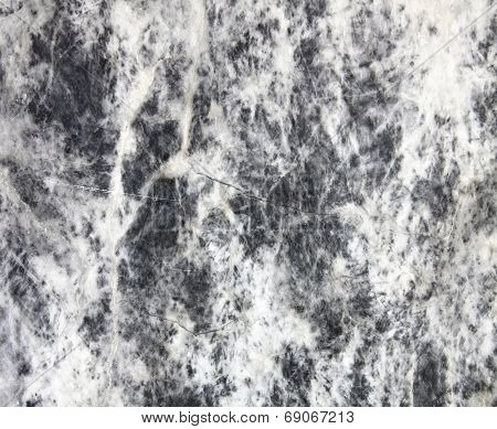 Surface Of Natural Gray Spotted Stone As Background