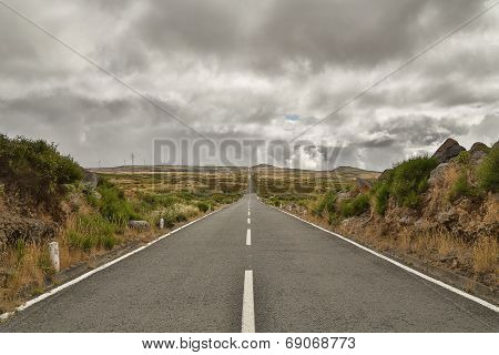 Long Road On Madeira