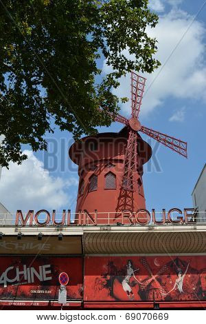 The Moulin Rouge - Famous Cabaret Venue