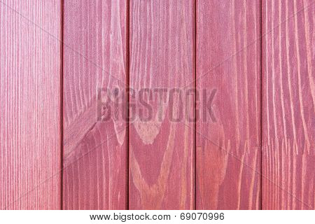 The Textured Wooden Surface Of Claret Color