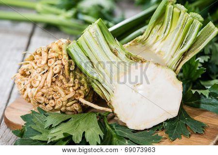 Portion Of Celeriac