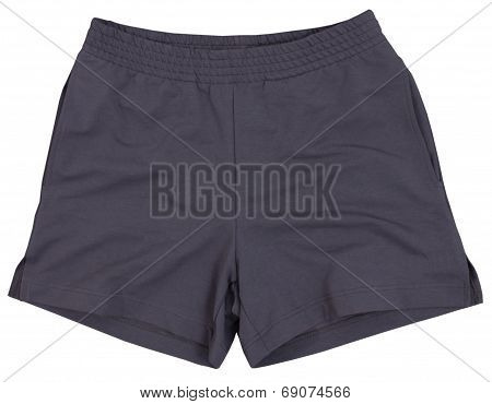 Sport shorts. Isolated on white background.