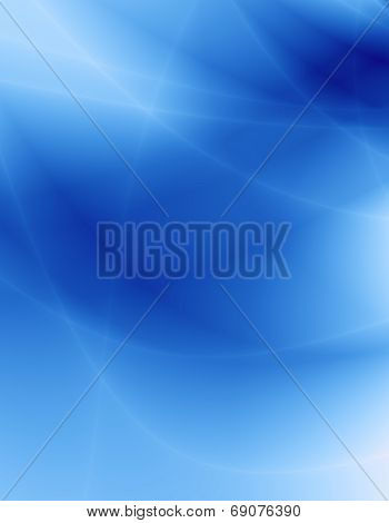 Wave blue sky abstract modern design