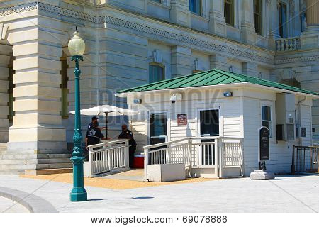 US Capitol Senate Entrance