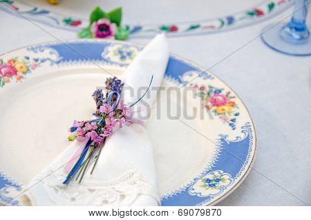 nosegay napkin ring