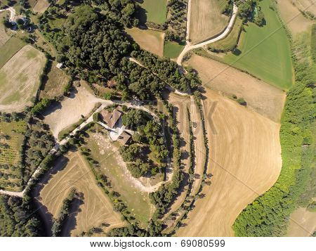 Aerial Rural View