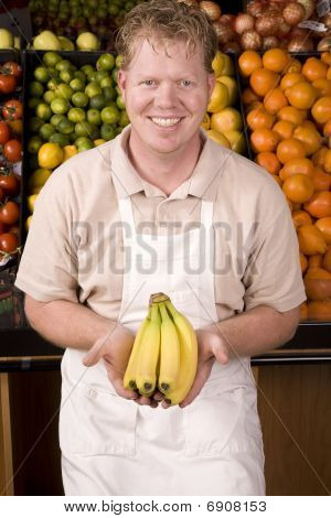 Man With Banana