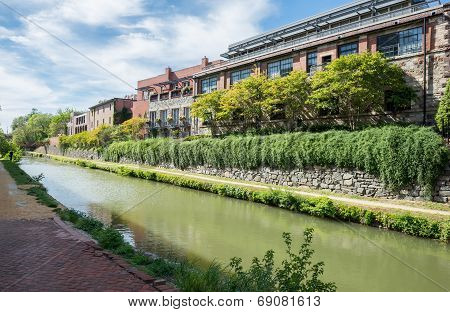 Building By Canal