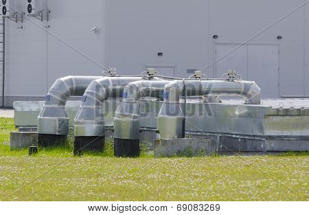 Industrial steel air conditioning