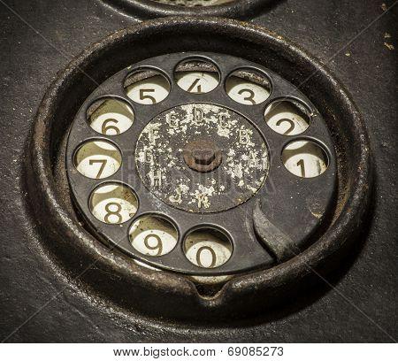 Old Black Telephone