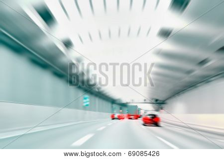 Commuter Traffic - Urban Tunnel