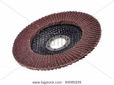 Abrasive disk for metal